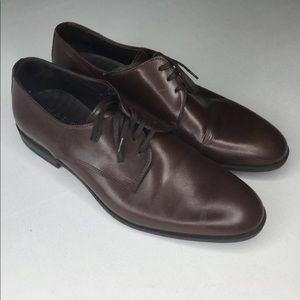 HARRYS OF LONDON BROWN Leather SIZE US 9.5 EUR 43